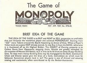 monopoly cash rules